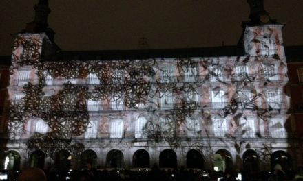 Un mapping en la Plaza Mayor