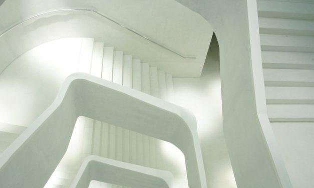 Imagen escaleras Caixa Forum Madrid.