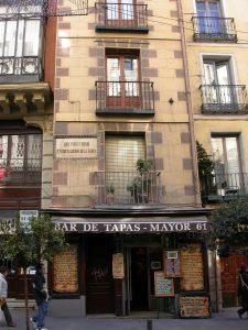 casa más estrecha de Madrid