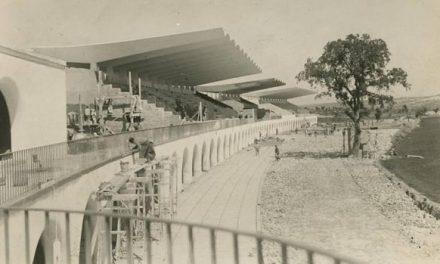 El arquitecto enseña su obra: el Hipódromo de la Zarzuela