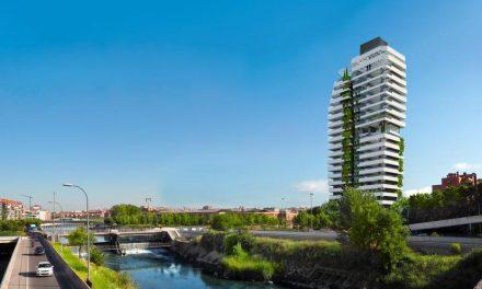 Una torre de veinte plantas en Madrid Río
