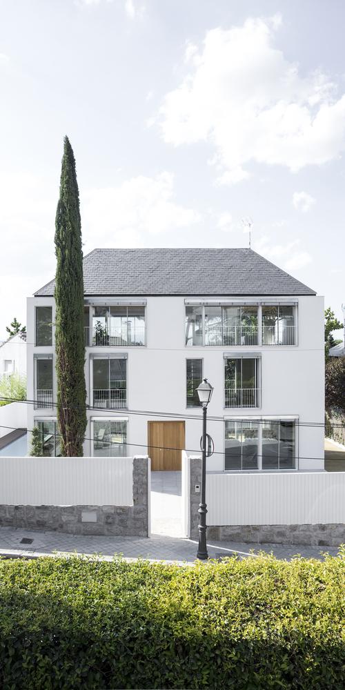 Casa en mirasierra proyecto de vivienda unifamiliar aislada - Casas en mirasierra madrid ...