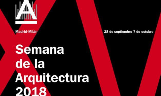 Mañana comienza la Semana de la Arquitectura